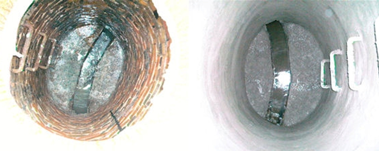 Manhole Repair, Before and After